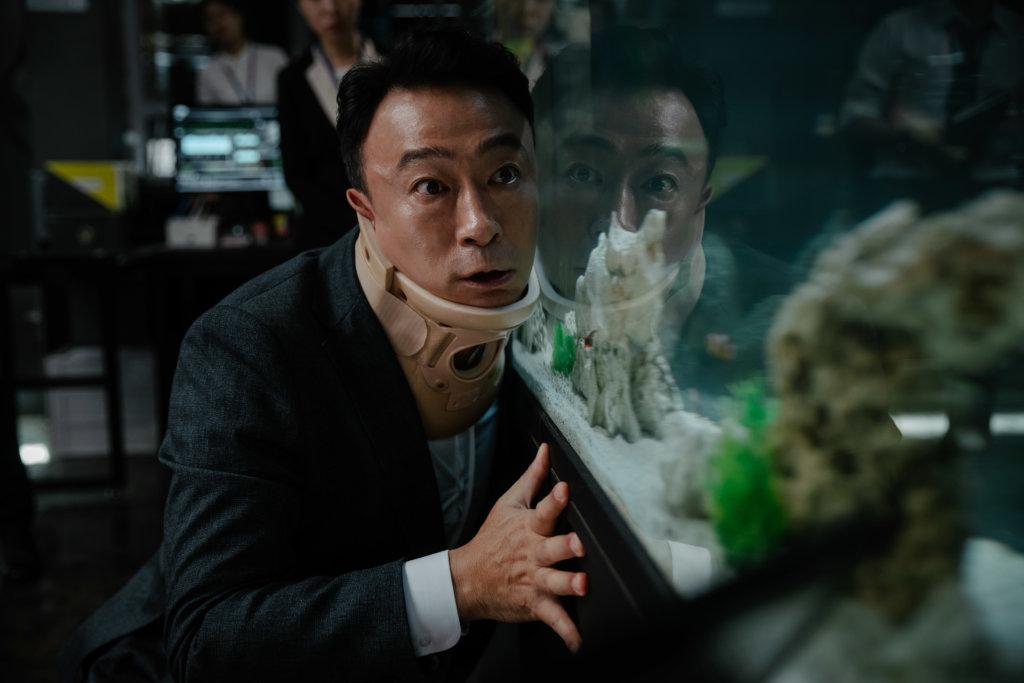 李聖民飾演的朱特務,因一次意外而得到與動物溝通的能力。