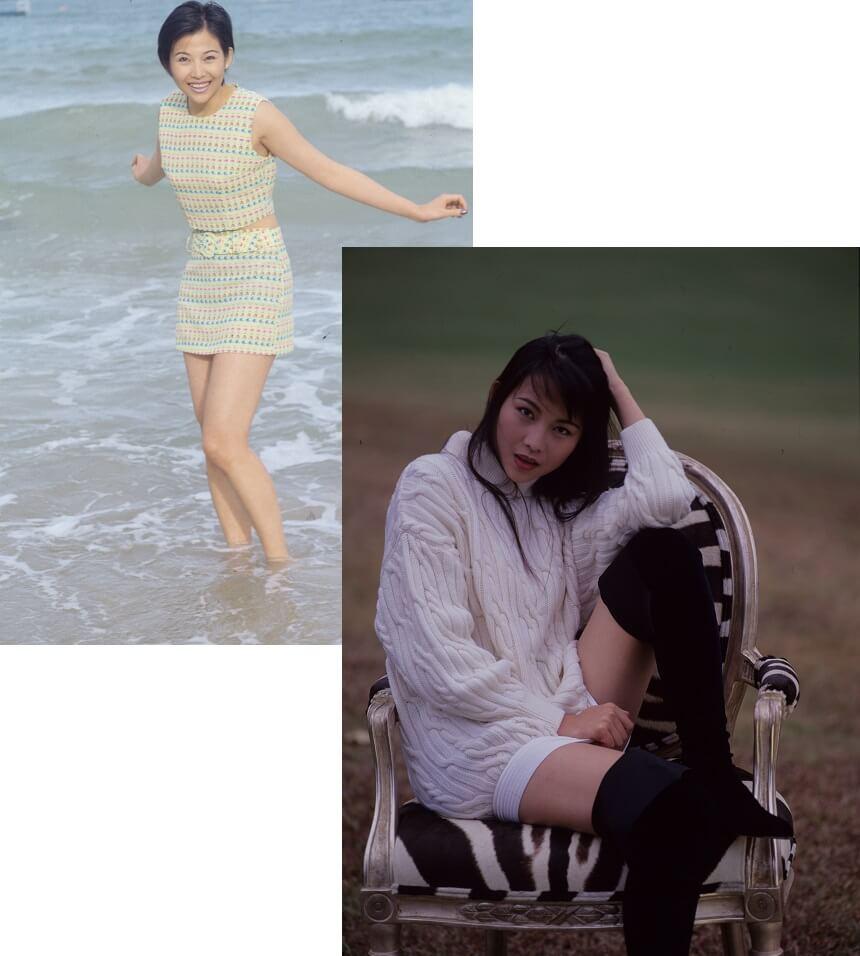 蔡少芬悉打扮,不減當年「美女芬」風采。