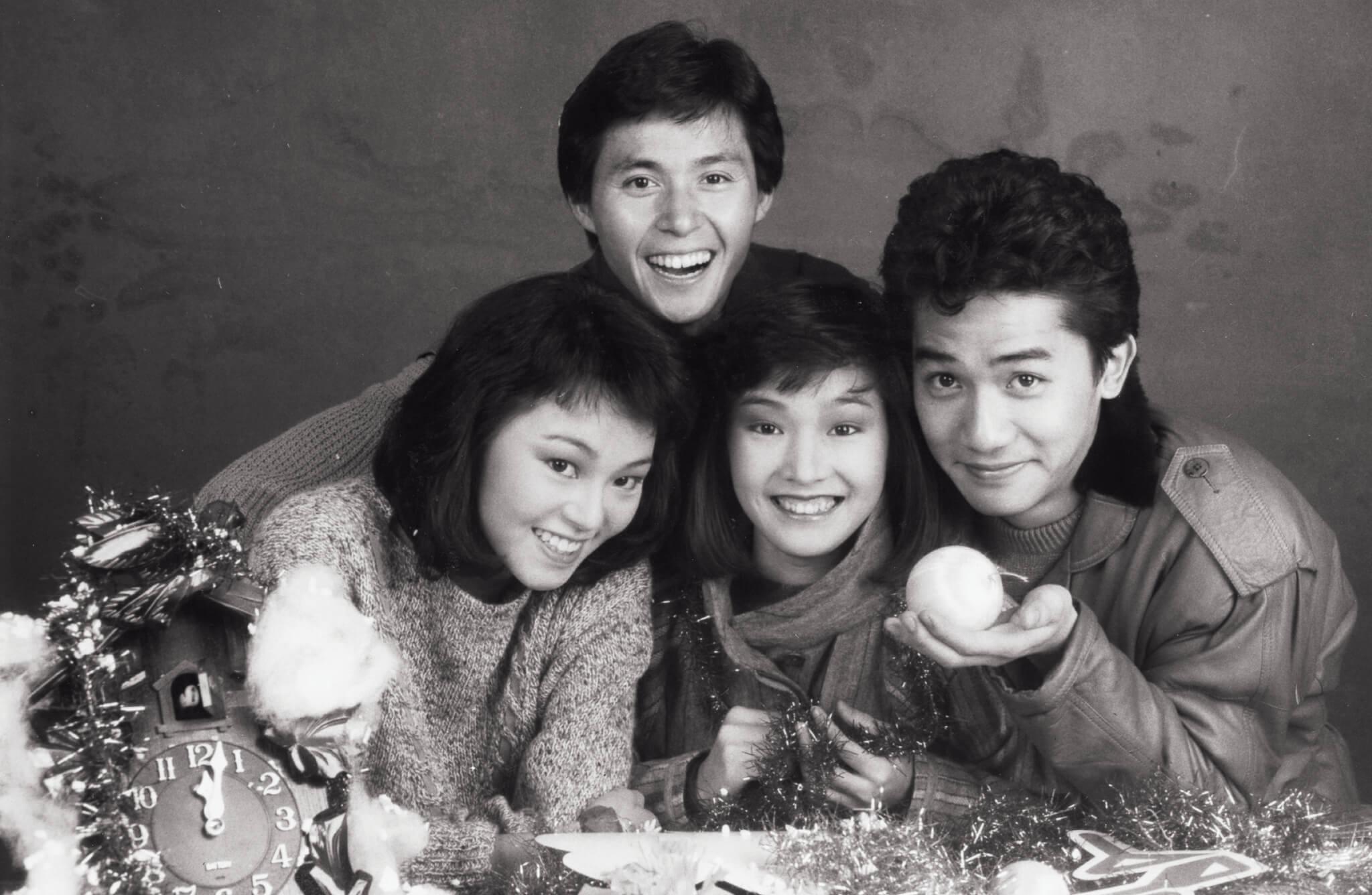 八十年代的《430穿梭機》,張國強與譚玉瑛、區艷蓮、梁朝偉一同主持。