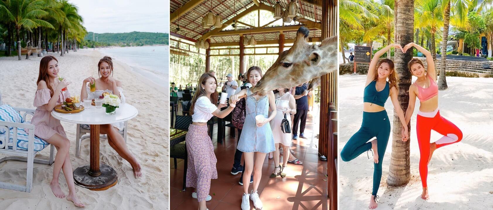 讓女主持騷身材之餘,亦不能失節目旅遊本意,亦要介紹當地遊玩好去處和文化。