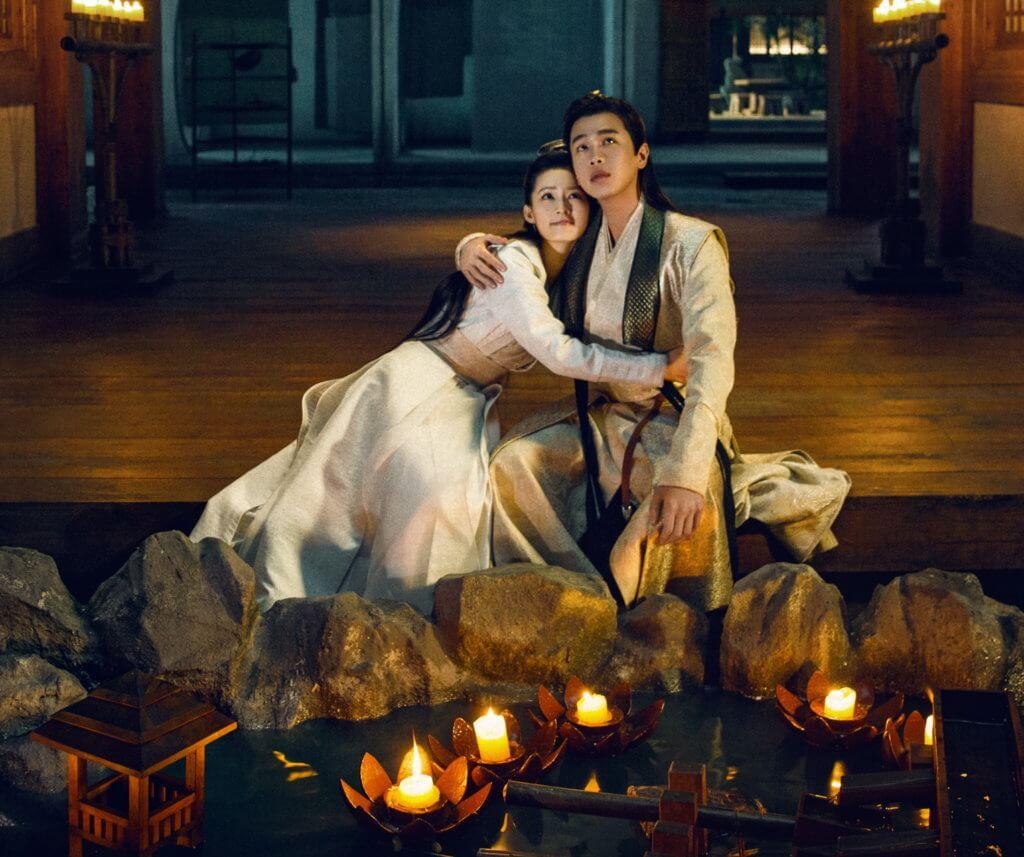范閑對李沁飾演的「雞腿姑娘」一見鍾情,後來更發現她就是自己的訂婚對象林婉兒。