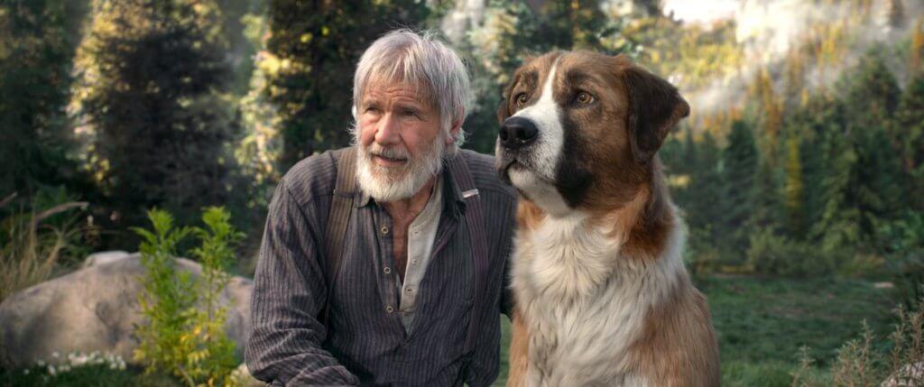 夏里遜福與CG打造的神犬巴克建立深厚情誼