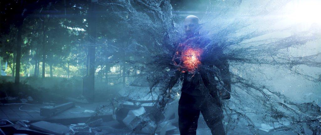 《喋血戰士》中的雲迪素血液中有納米戰甲,擁有獨一無二的超能力。