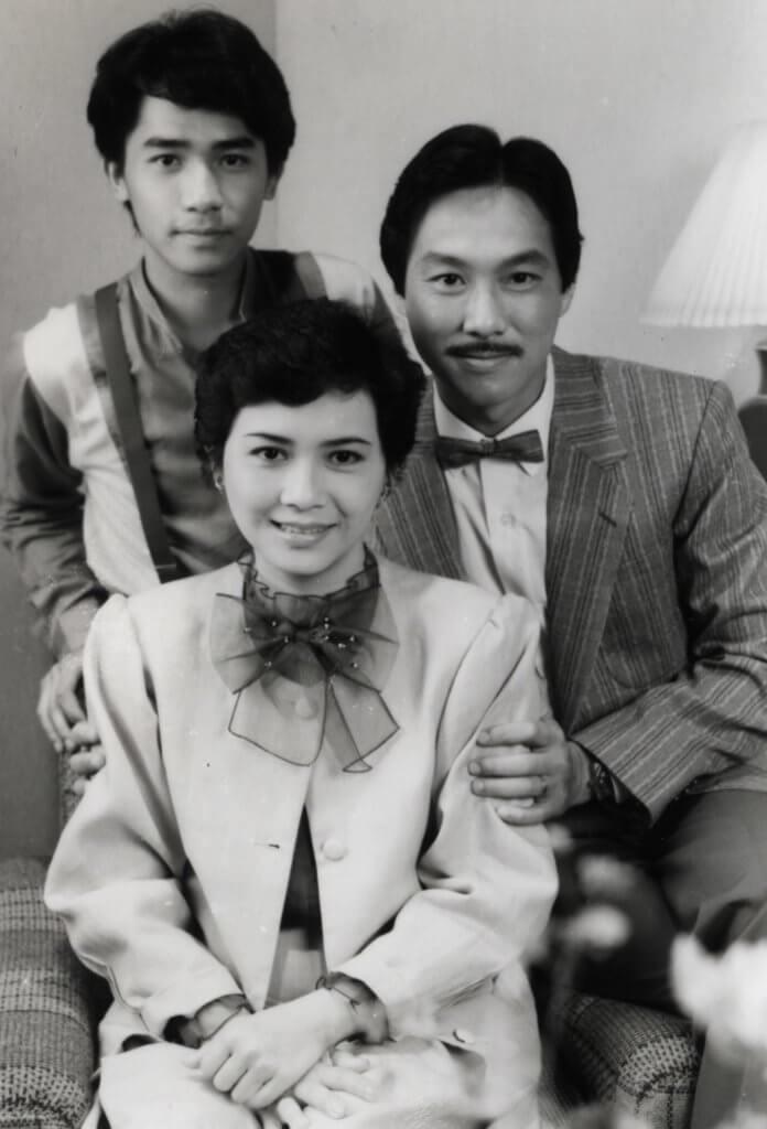 于洋拍劇集《鬼咁夠運》與葉德嫻演夫婦,初出道的梁朝偉演兒子。