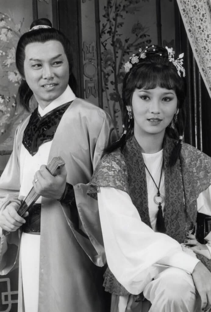 在古裝劇《福星高照》中,于洋與趙雅芝演一對。