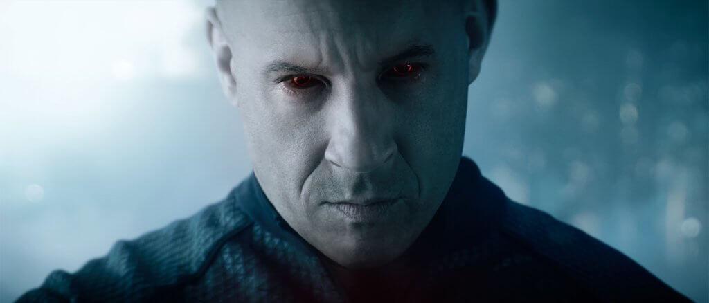 喋血戰士跟雲迪素以往的角色同樣強大,但在情感上卻非常脆弱。