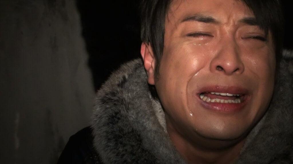 梁思浩在節目淚流滿面痛哭,完全真情流露。