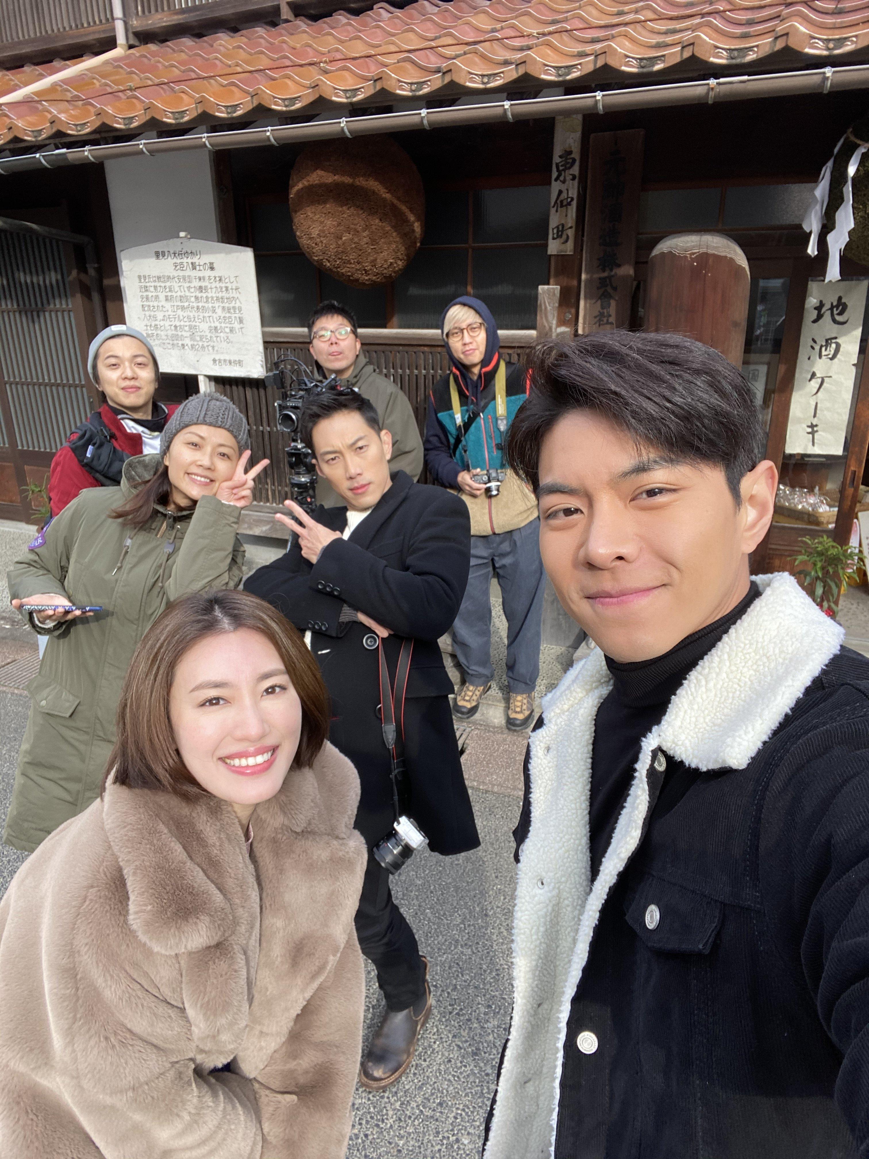 微電影在日本取景,羅天宇、蔣家旻、麥秋成寓工作於旅遊。