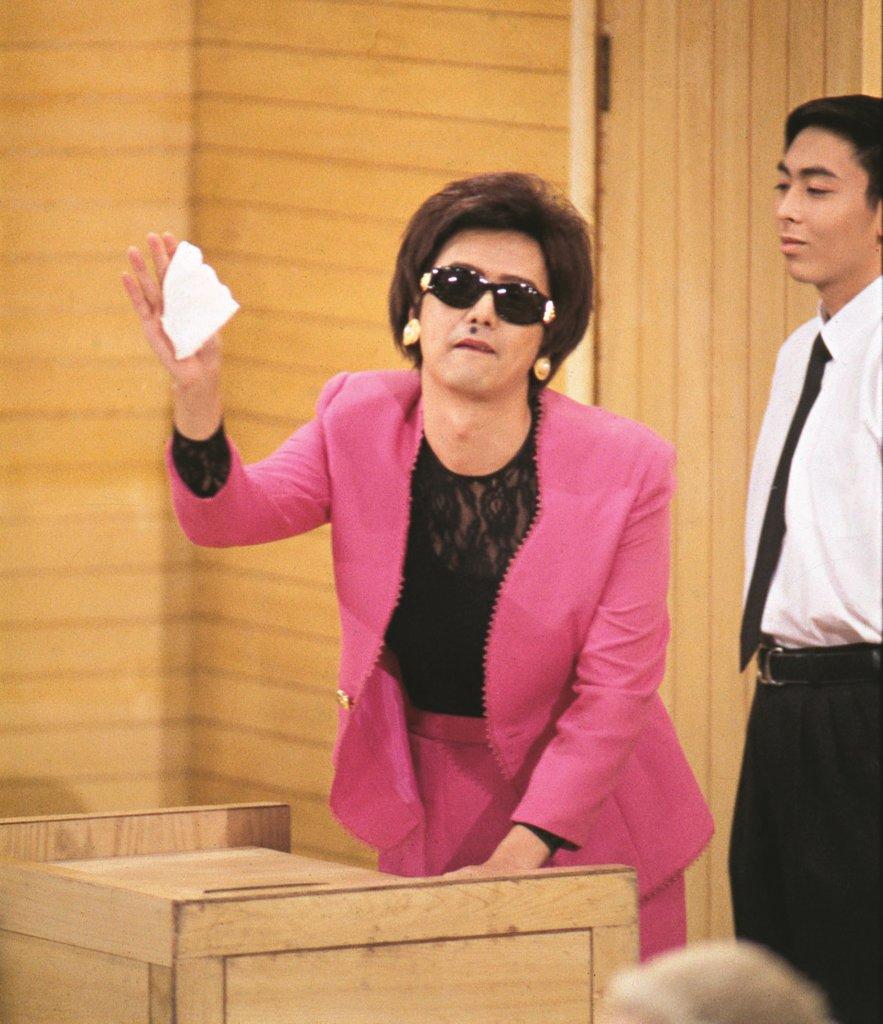在電視觀眾心目中,張錦程的代表作是「羊嫂」,反串扮祥嫂。