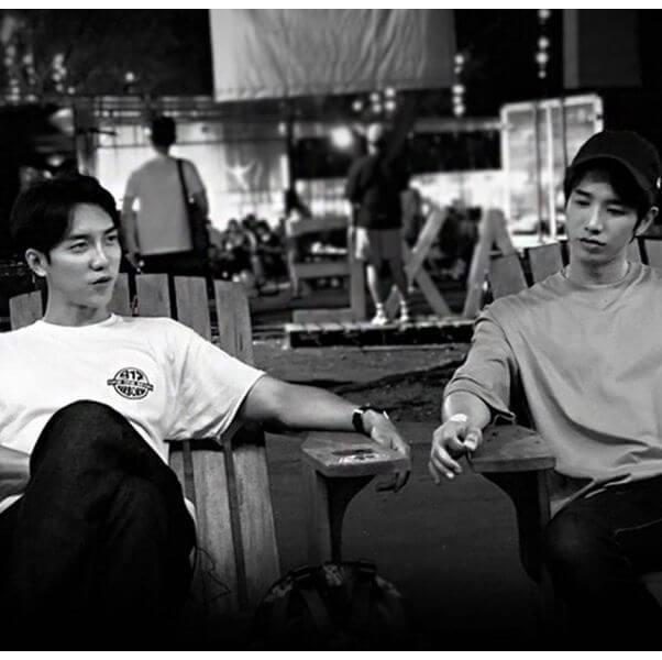 劉以豪及李昇基因合作節目而成好友,更以「#豪基情」為IG hashtag。