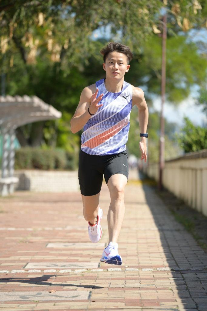 林安琪目前是港隊精英運動員,她希望好好享受跑步運動。