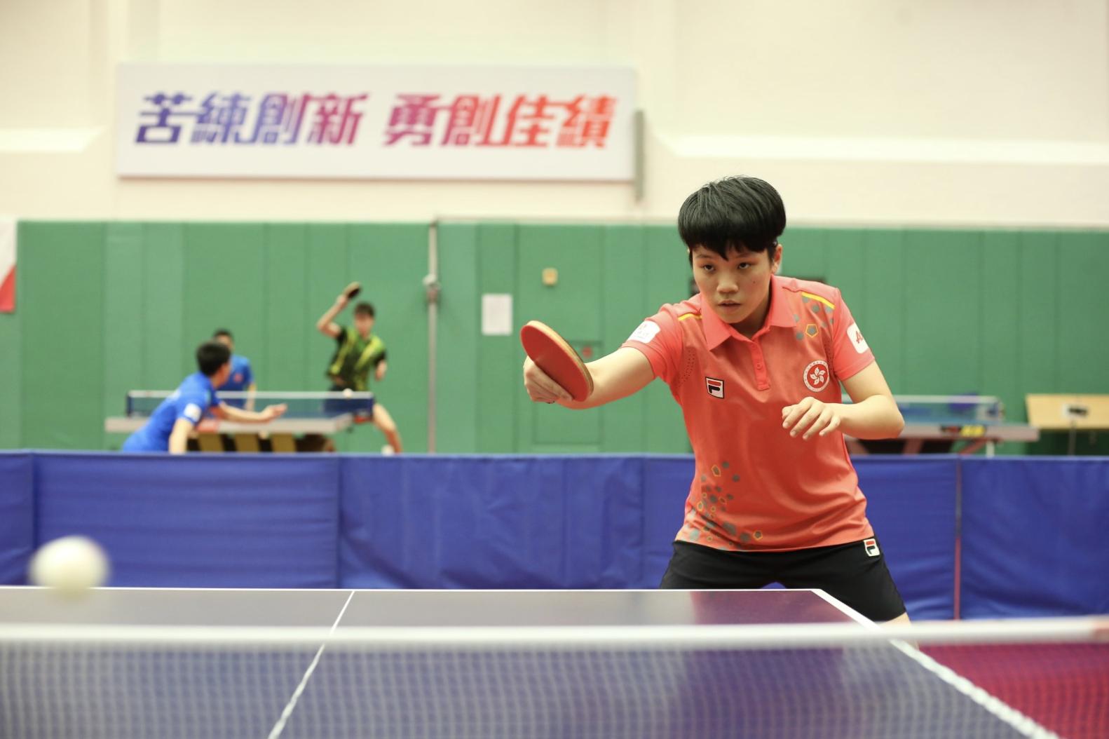 香港乒球一姐