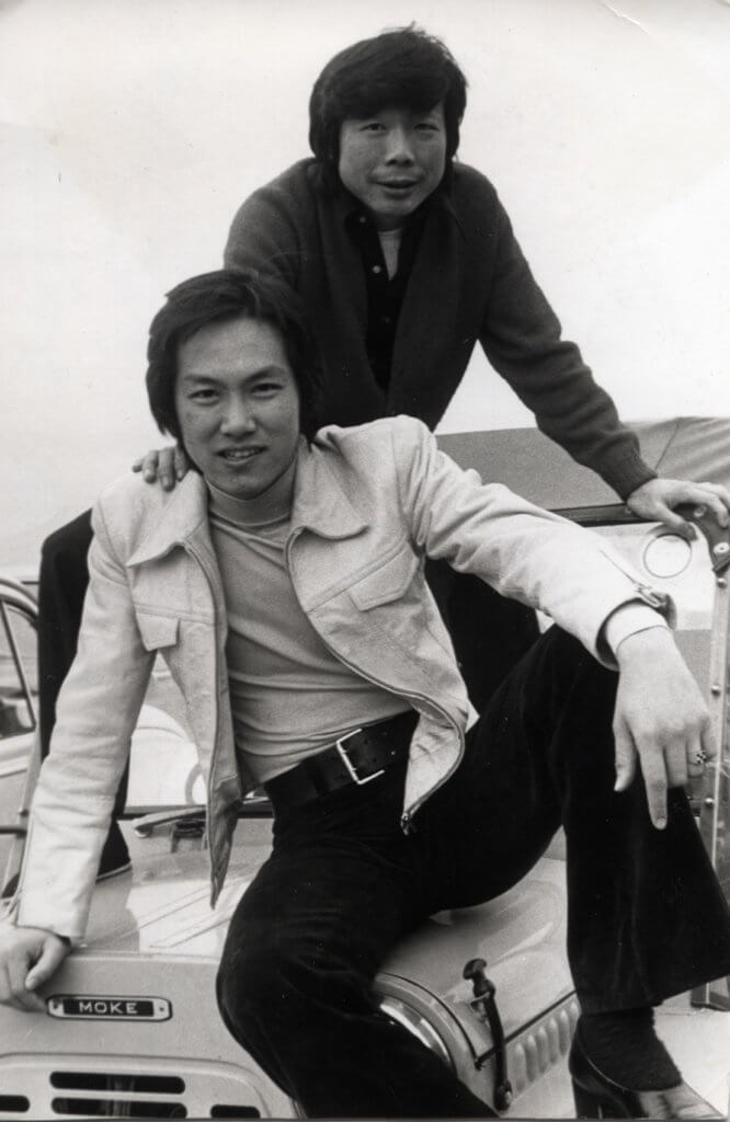 于洋拍動作片的年代,其中一位合作的演員是午馬。