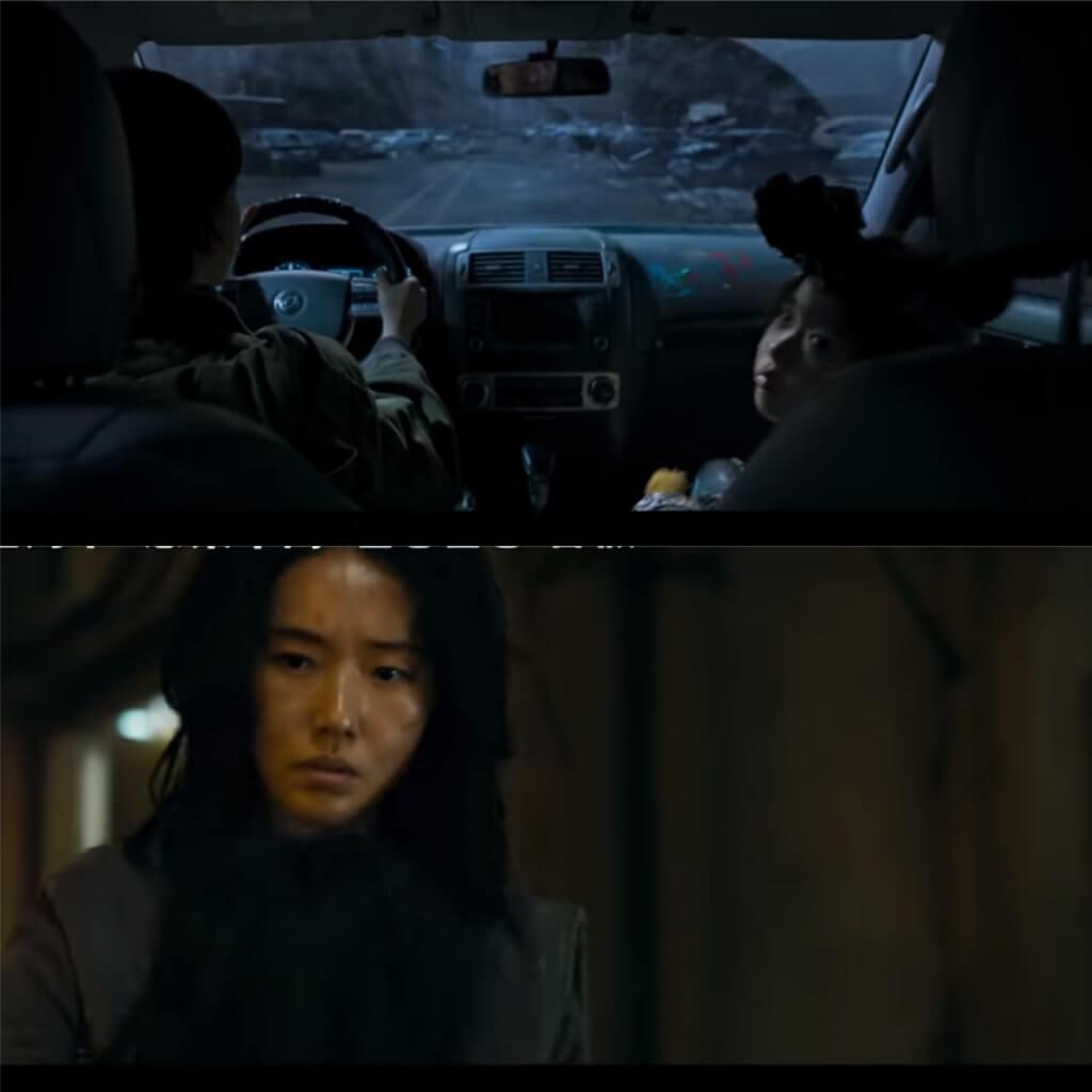 李貞賢是喪屍戰士,駕車戴着平民逃走,驚心動魄。