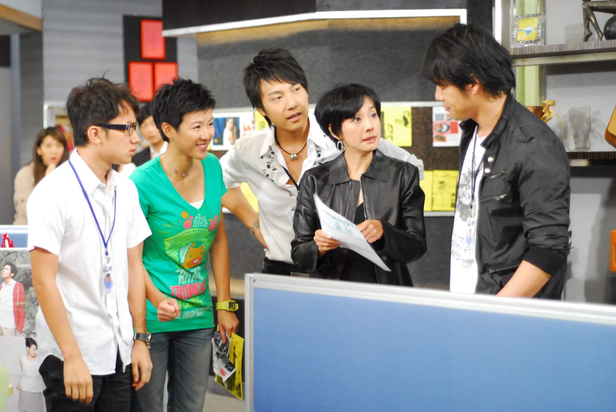 鄧永健說很開心可以在《畢打自己人》認識到毛姐毛舜筠,令他對演戲有多一重了解。