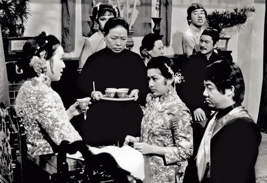 黃曼梨是盧宛茵的偶像,她在《難為了家嫂》有幸合作。