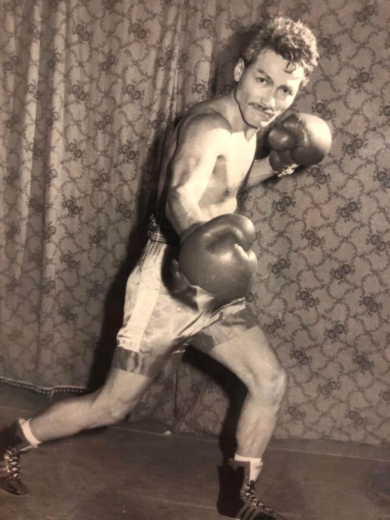 冼灝英在呂良偉主演的無綫劇《小島風雲》中演外籍拳手