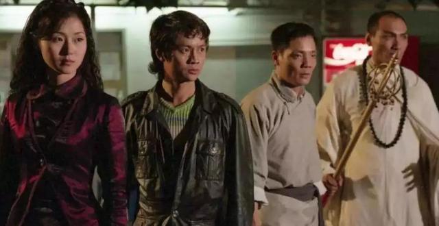 亞視代表作《我和殭屍有個約會》,冼灝英演孔雀大師。