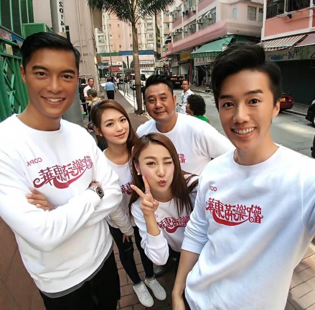 黎振燁跟朱智賢在一五年曾經在《歡樂滿東華》中有合作,想不到五年後,合作拍劇發展不倫戀。