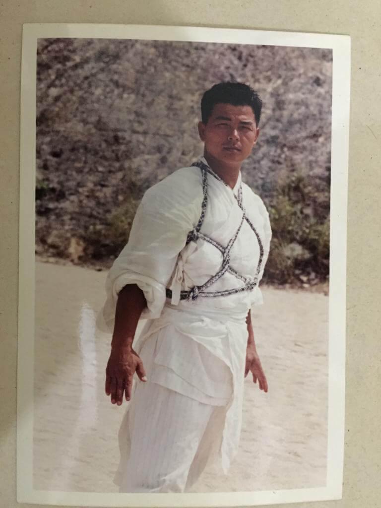 江富強在電影《笑俠楚留香》中擔任龍虎武師