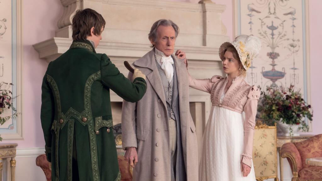 英國老牌男星標尼爾,飾演女主角的富紳父親。