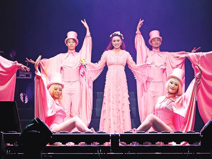 黎瑞恩離婚後,重踏舞台舉行演唱會,偶爾接一些商演。