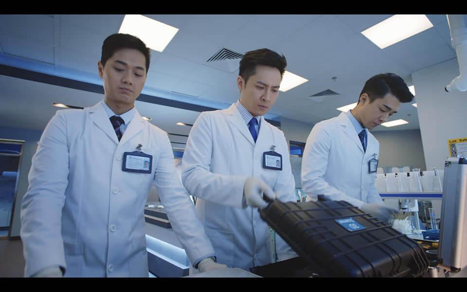 朱滙林在《法證先鋒IV》飾演法證人員Ocean,與鄭俊泓、黃耀煌對手戲較多。