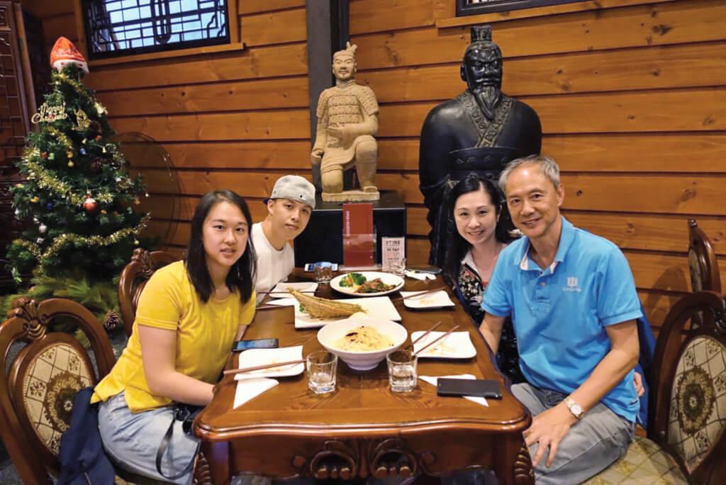 陳榮峻和吳香倫的婚姻,得到子女的支持和祝福。