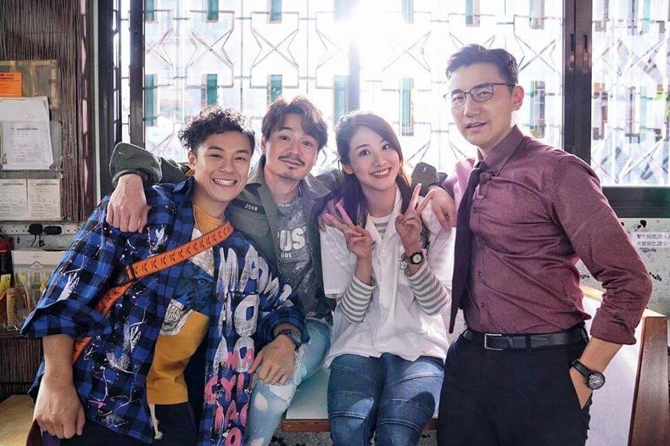 近日謙仔與鄧佩儀、洪永城忙拍無綫新劇,努力賺奶粉錢。