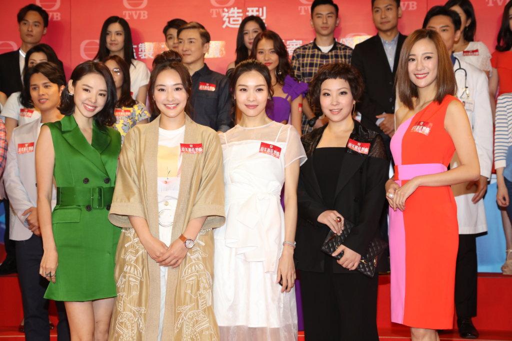 陳瀅去年總共接拍了四部劇集,其中劇集《愛美麗狂想曲》與譚凱琪、李佳芯和蝦頭合作,而她亦與蕭正楠有感情戲分。