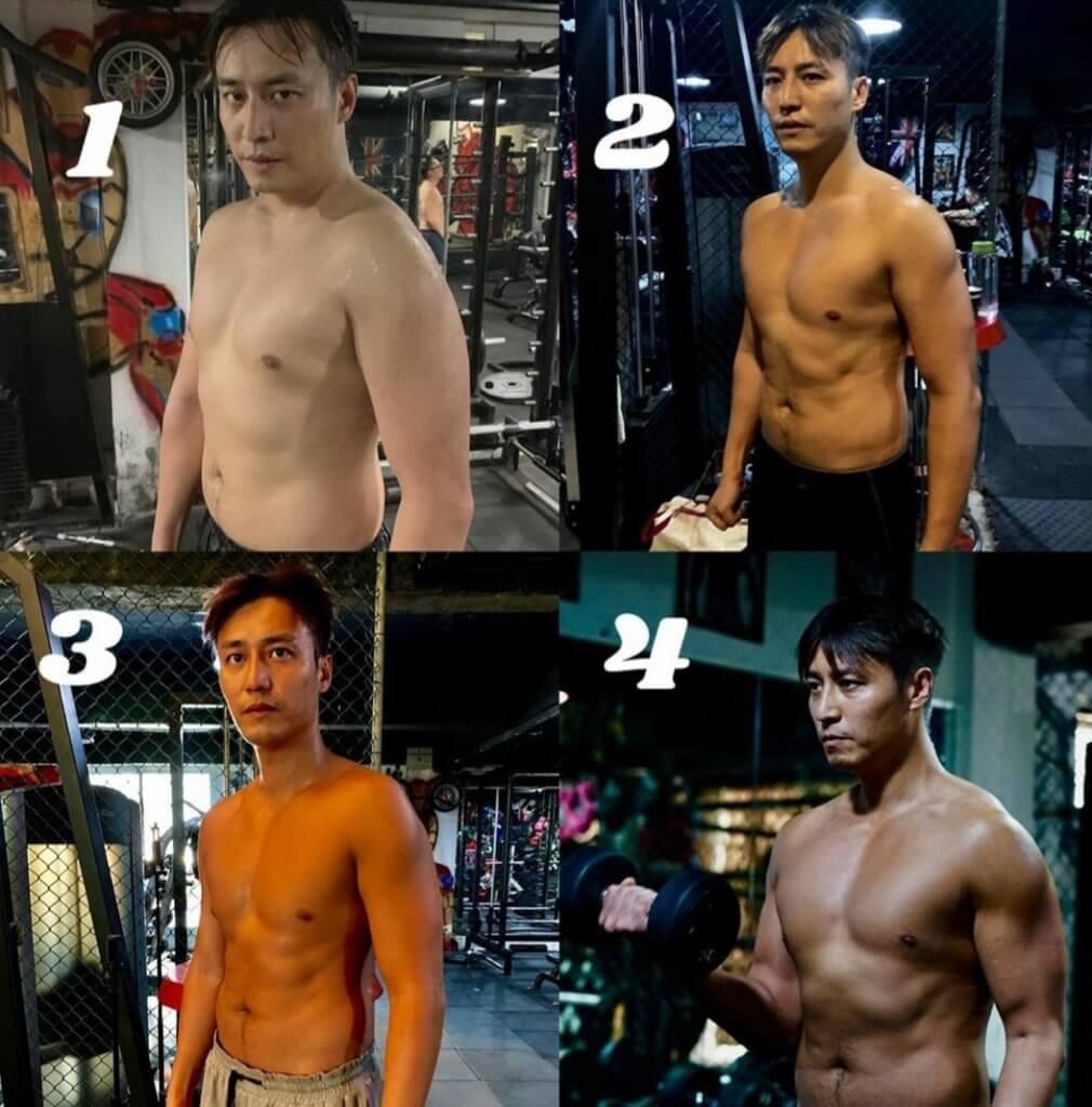 張建聲經常為角色增磅減肥,他認為在外形上配合角色,會令自己更易入戲。