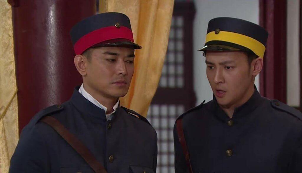 朱滙林在劇集《末代御醫》中,與黃祥興有不少對手戲。