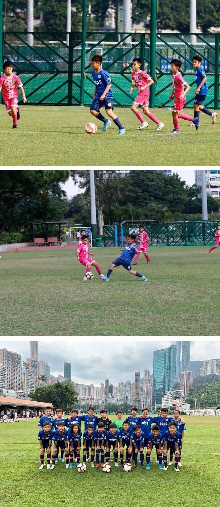 現在青少年期的徐榮儼如足球小將般踢得相當出色,朝着職業足球員的夢想已是漸行漸近。