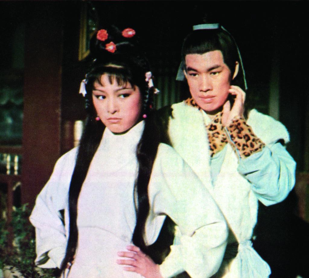 佳視七十年代開拍《射鵰英雄傳》,第一代郭靖、黃蓉是白彪和米雪。
