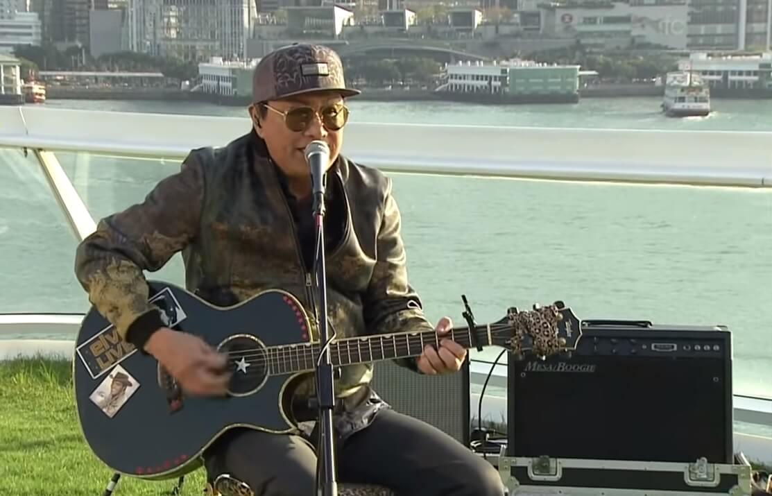 許冠傑舉行網上音樂會,以歌聲為香港人打氣,感動不少人,但不是任何人能倣效得了。