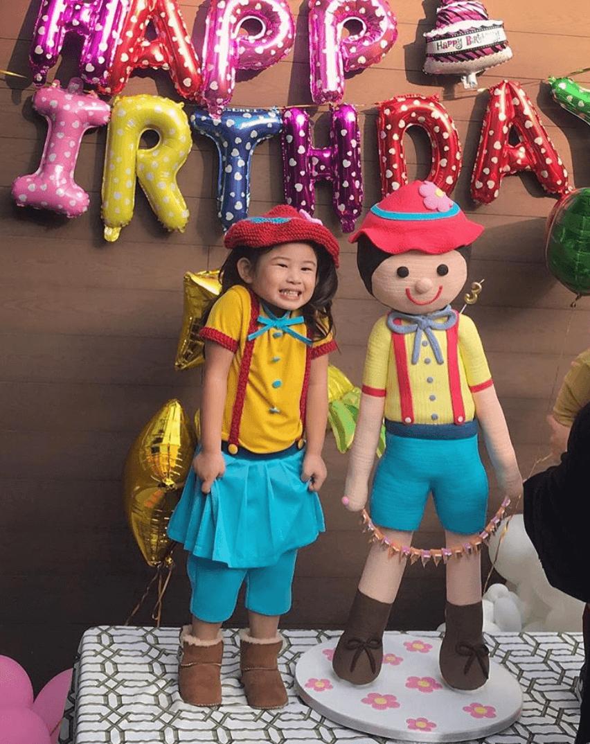 梁浸浸3歲生日派對