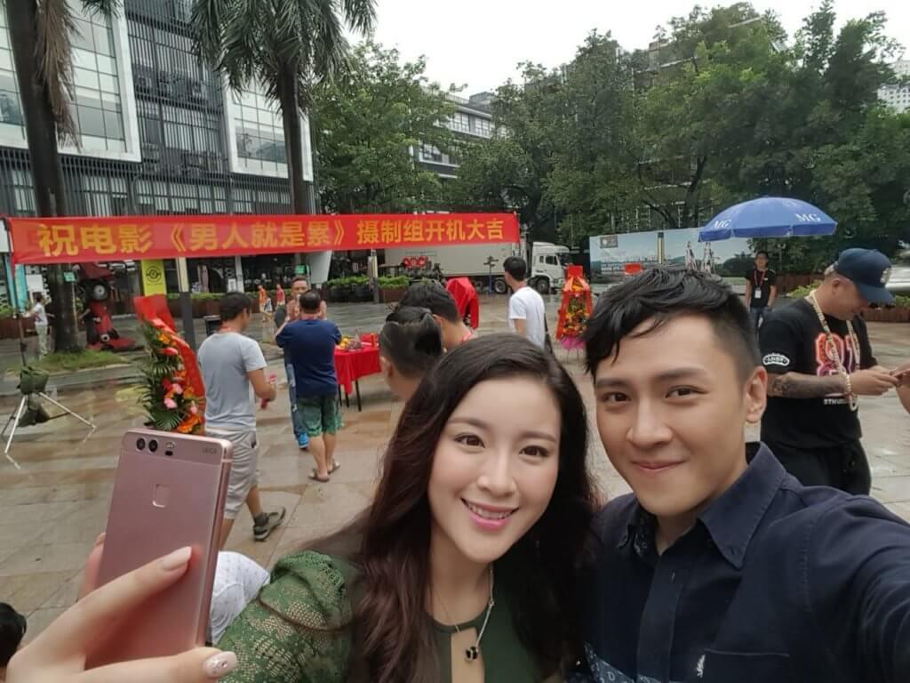朱滙林與華姐冠軍張慧雯合拍內地網大《男人就是累》