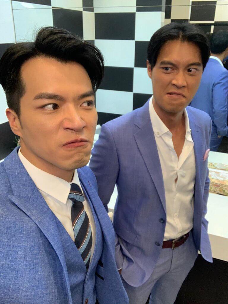 黎振燁在《愛回家‧開心速遞》中有角色,經常跟送水輝許家傑有對手戲。