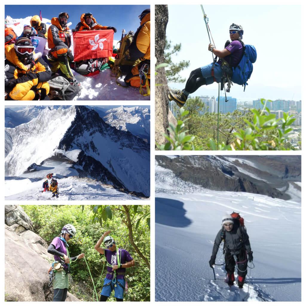 盧澤琛攀上珠峰為人生寫下難忘的一章,他相信對日後的人生路有很大影響。