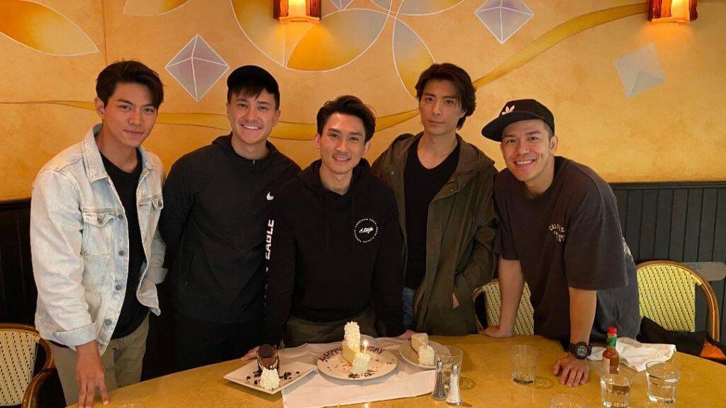 圈中最好的朋友是羅天宇、朱敏瀚、張景淳和沈震軒,五兄弟互相扶持。