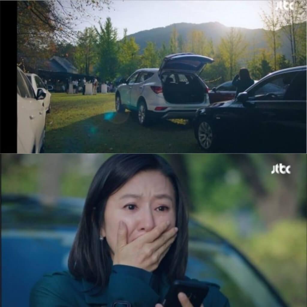 在第二集中,金喜愛為丈夫搞生日會,她知道老公出軌的事實。