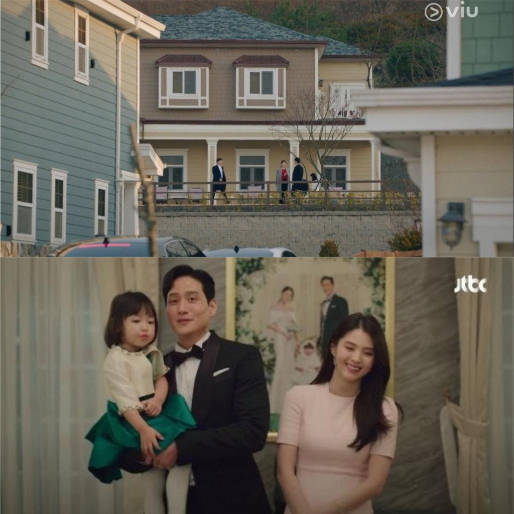 朴海俊跟小三韓希希回國後的新居,也是在「美國村」取景。