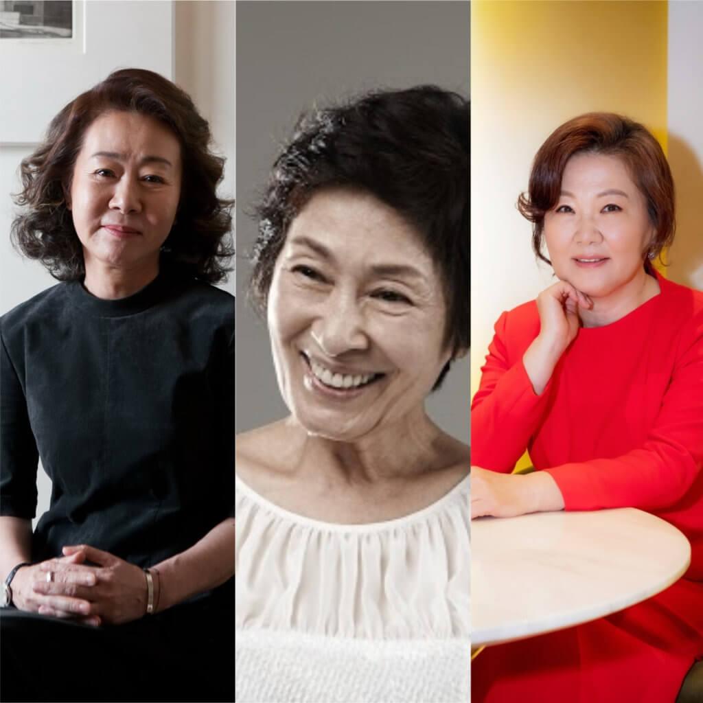 尹汝、金惠子和金海淑都是「國民媽媽」,追慣韓劇的觀眾都看過無數次由她們扮演的媽媽角色。
