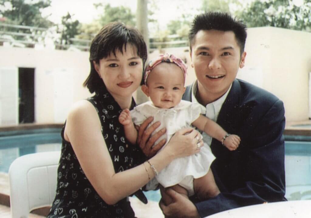 1995年關禮傑迎來第一個女兒