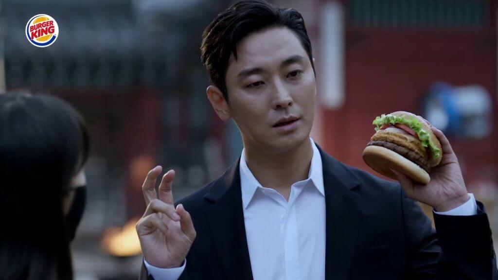 朱智勛代言漢堡包廣告