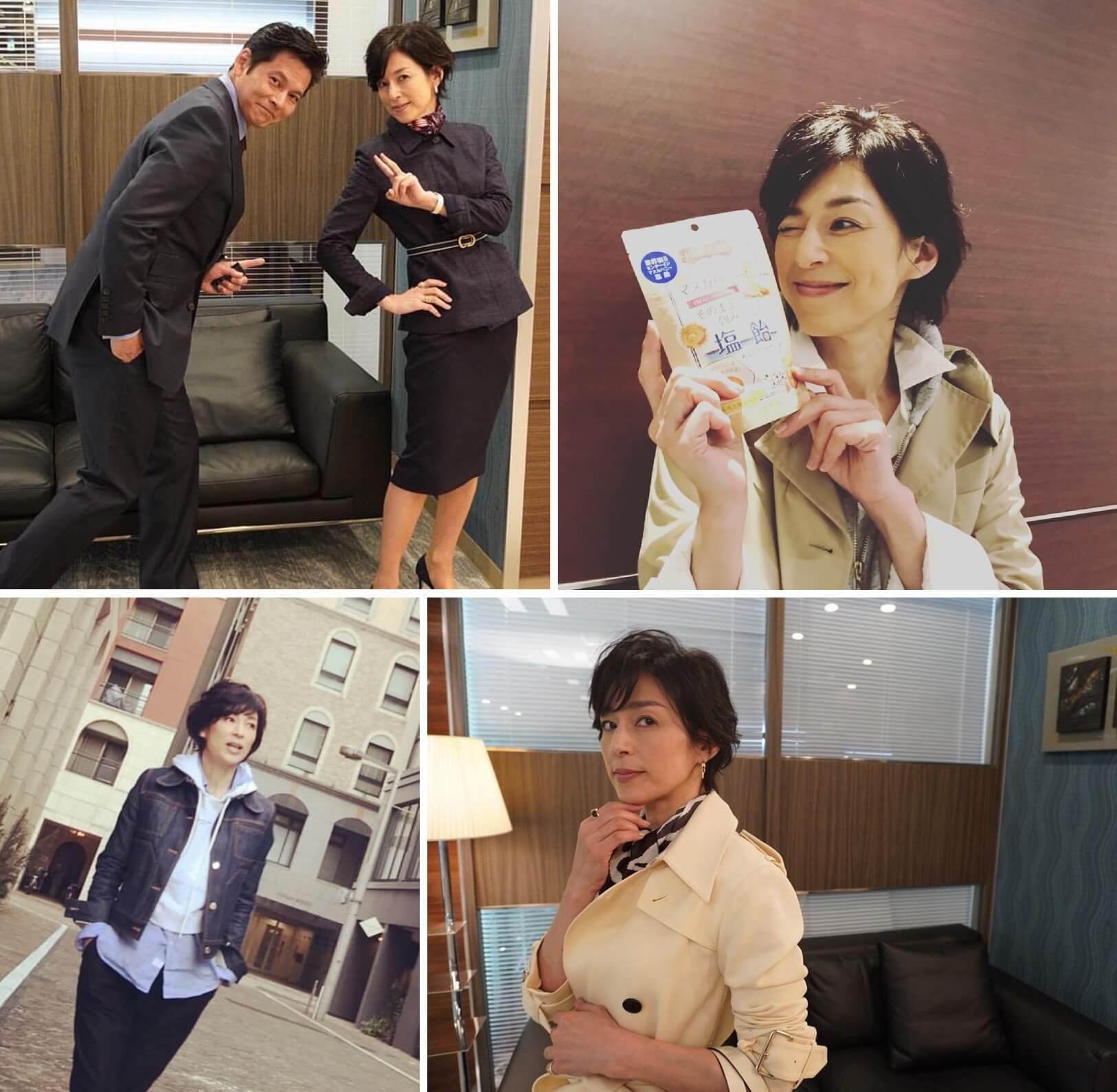 鈴木保奈美近年再活躍幕前演出。