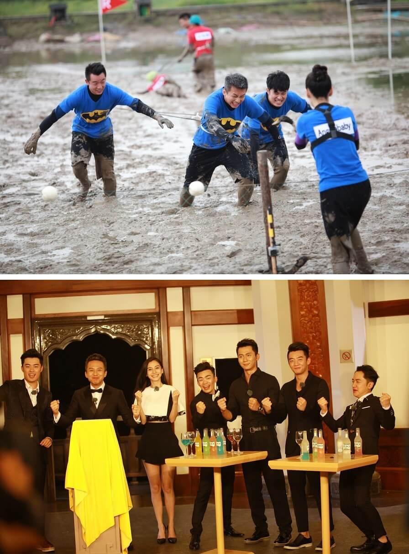鄭愷因參與浙江衛視製作的《奔跑吧兄弟》走紅。