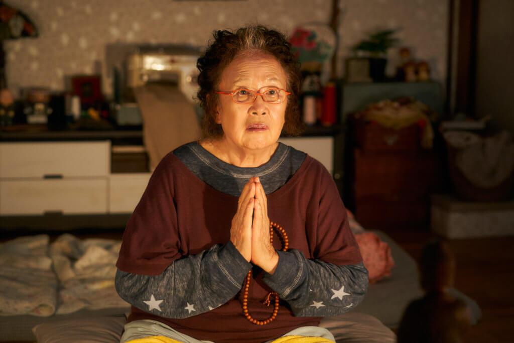 羅文姬在《誠實選舉媽》演羅美蘭的祖母