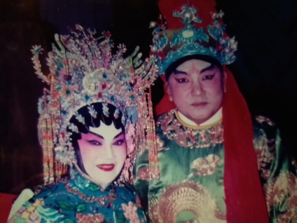 蔡國慶的行當為老生及花面,與有二幫王稱號的李香琴亦有合作。