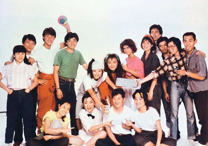 從未曝光的1983年本地廣告拍攝工作照,Tina旁乃日本攝影師Saito先生